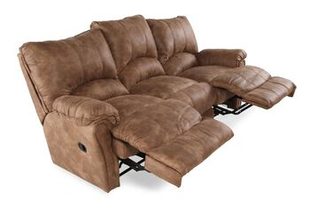 Lane Alpine Caramel Reclining Sofa