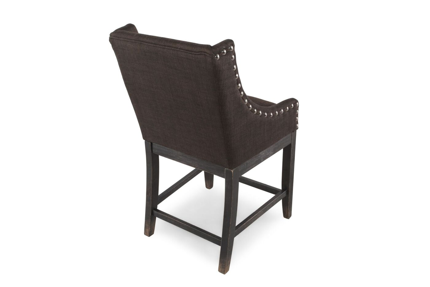 Ashley Moriann Chocolate Pair Of Counter Stools Mathis
