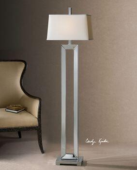 Uttermost Coffield Metal Column Floor Lamp