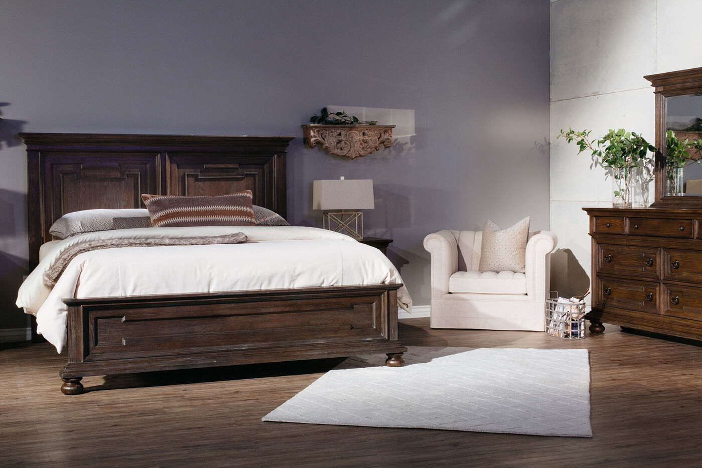 Samuel Lawrence Hamilton Bed Mathis Brothers Furniture