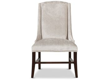 Bernhardt Interiors Slope Upholstered Arm Chair