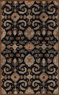 "LBJ Hand Tufted Wool Blue Traditional  2'-6"" X 8' Runner Rug"