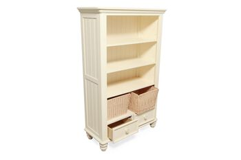 Legacy Summer Breeze Cottage White Youth Bookcase