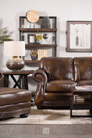 USA Leather Cowboy Loveseat