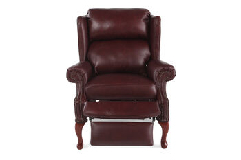Lane Savannah Leather Recliner
