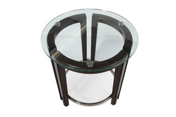 Magnussen Home Carmen Round End Table