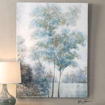 Uttermost Blue Spring Canvas Art