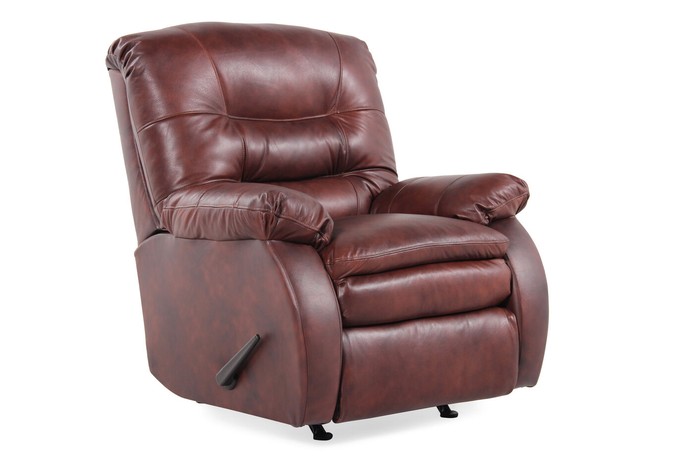 Lane zero gravity laredo bark rocking recliner mathis brothers furniture for Living room with two recliners