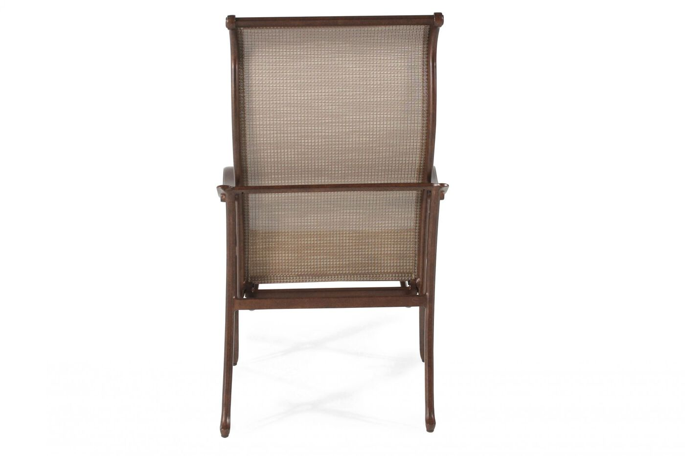 Agio Burgandy Sling Dining Chair