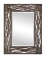 Uttermost Dorigrass Brown Metal Mirror