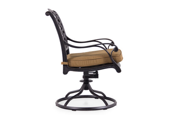 World Source Cimarron Swivel Rocker Chair