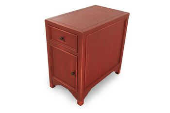 Ashley Vintage Red Chairside End Table