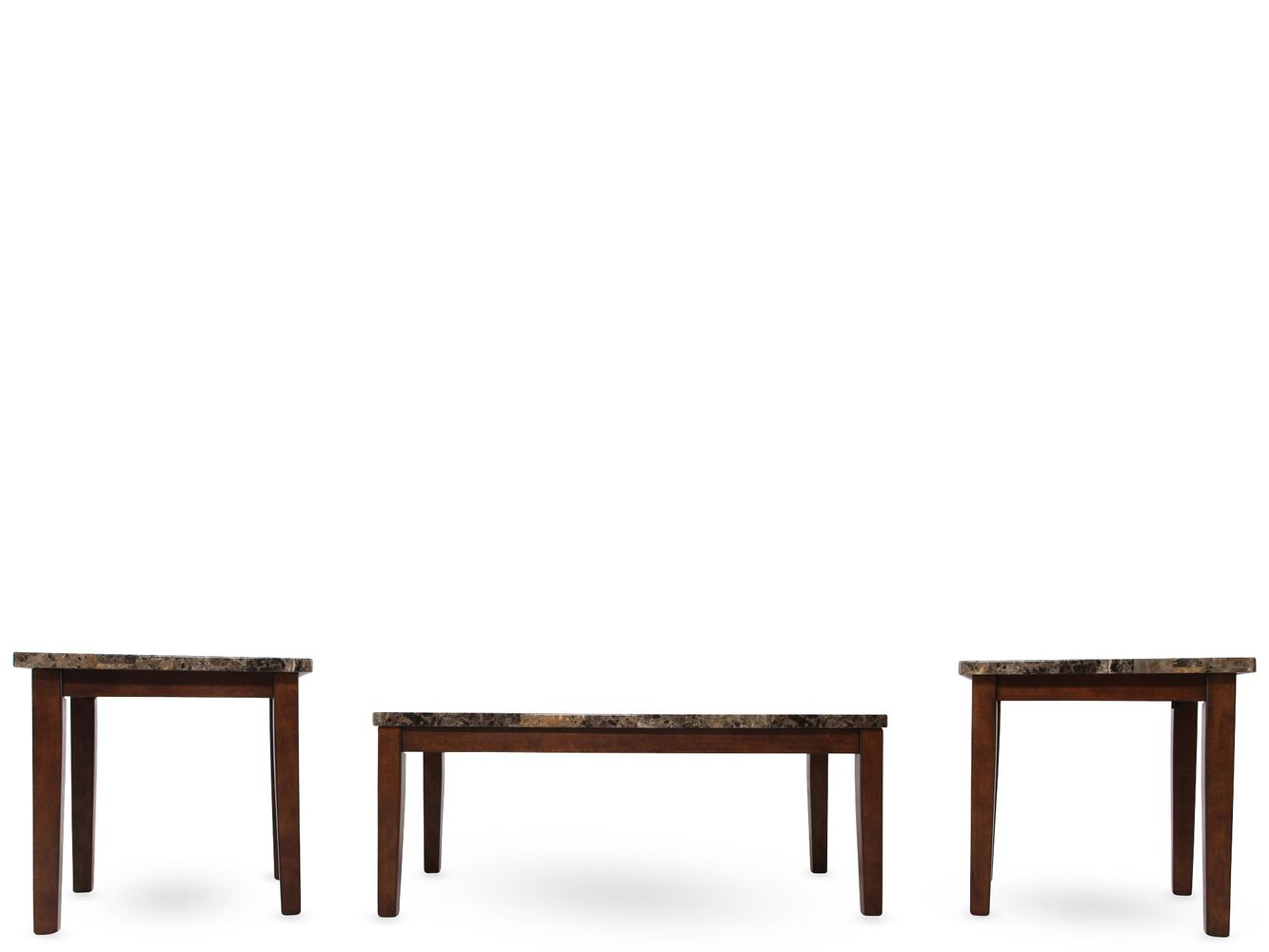 ashley theo coffee table set mathis brothers furniture