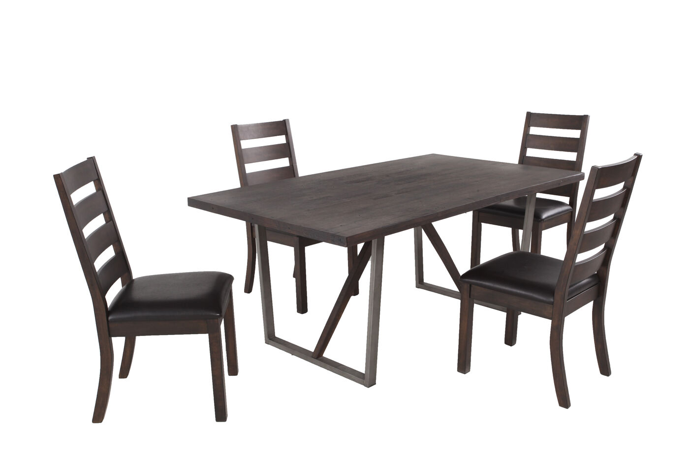 Winners Only Kendall Five Piece Dining Set Mathis Brothers Furniture