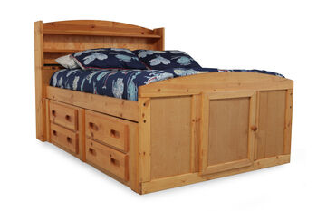 Trendwood Palomino Captain S Bed Mathis Brothers Furniture