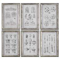 Uttermost Architectural Accents Prints S/6