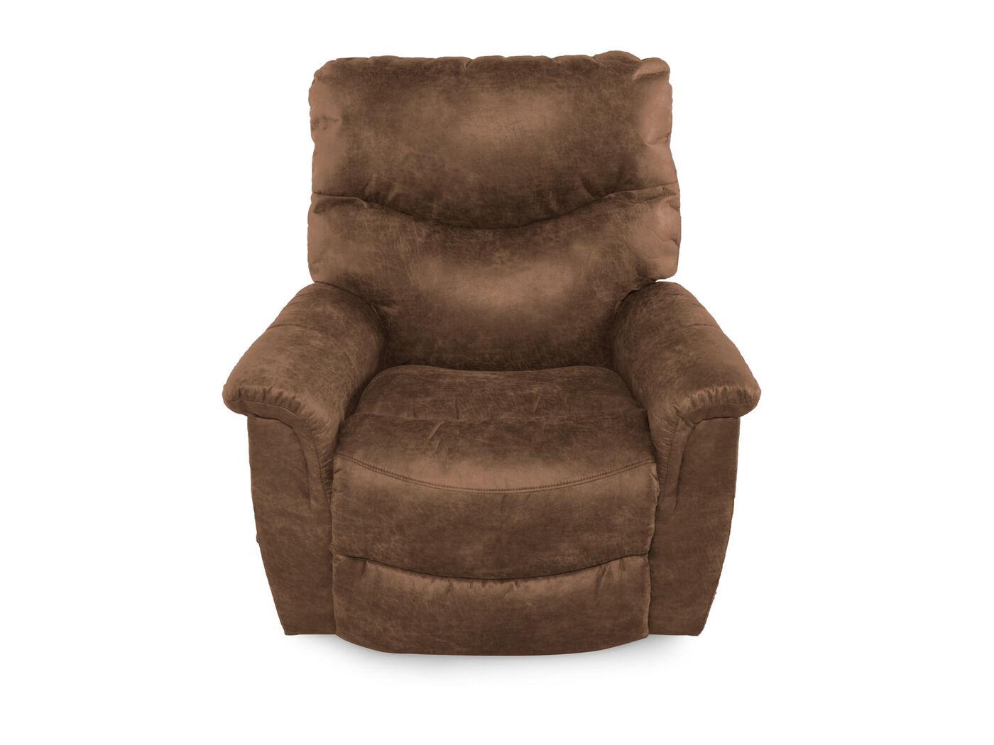 La-Z-Boy James Silt Renew Leather Recliner : Mathis Brothers Furniture