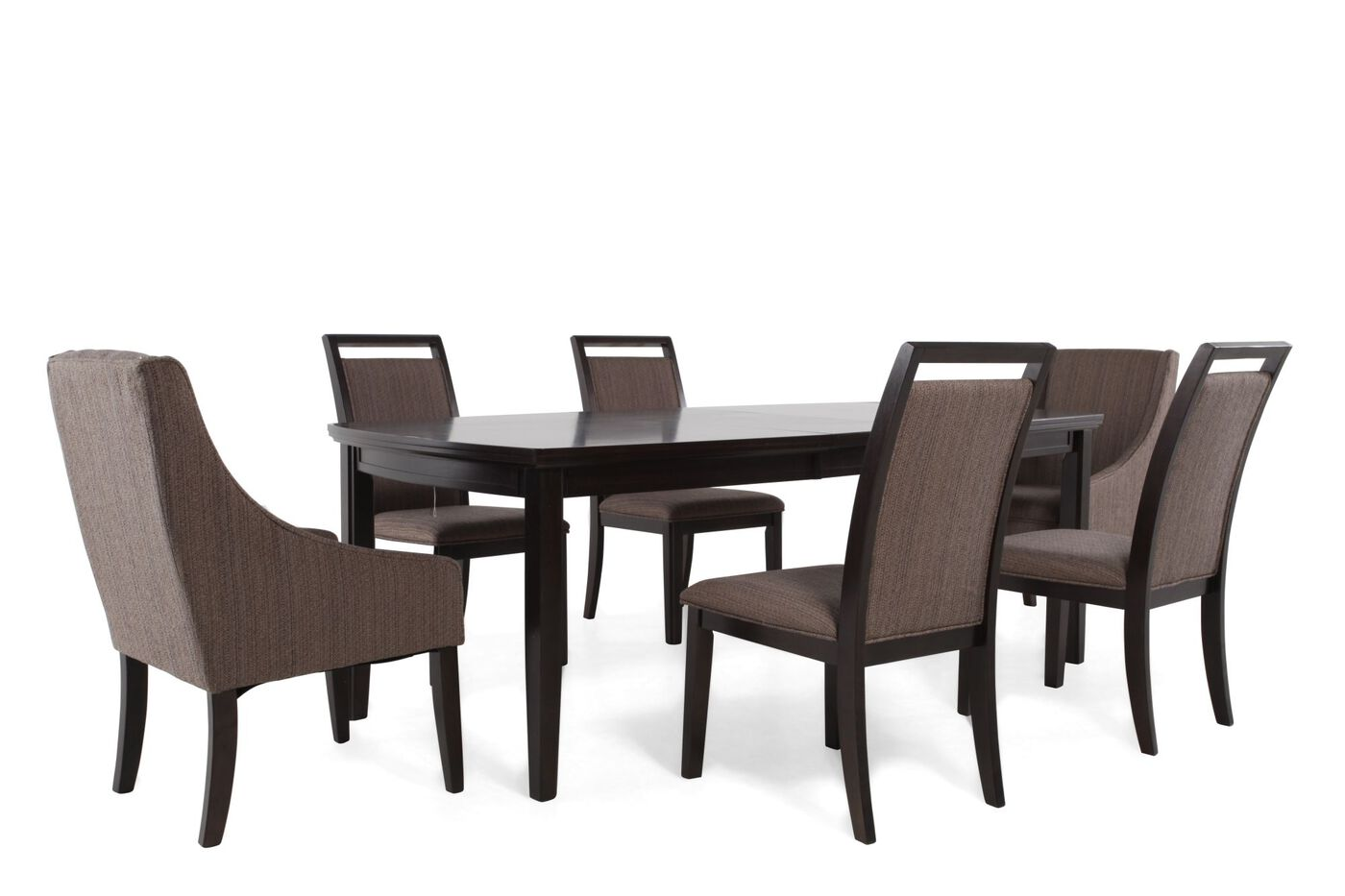 Ashley Lanquist Seven Piece Dining Set Mathis Brothers Furniture