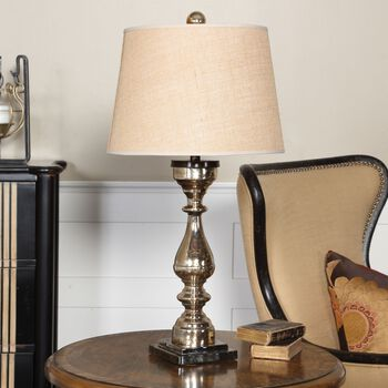 Uttermost Cervinara Mercury Glass Table Lamp