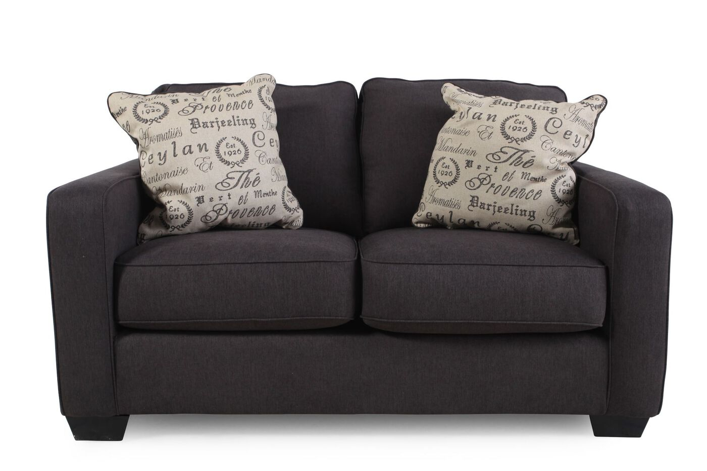 Ashley Alenya Charcoal Loveseat Mathis Brothers Furniture