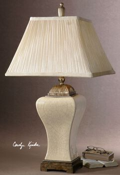 Uttermost Ivan Ivory Table Lamp