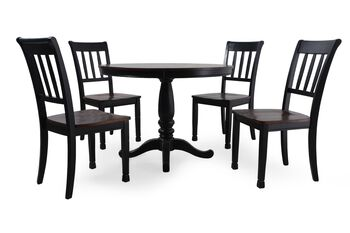 Ashley Owingsville Five-Piece Round Dining Set