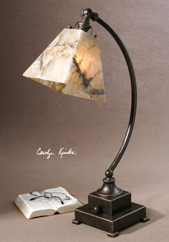 Uttermost Marius Task Bronze Buffet Lamp