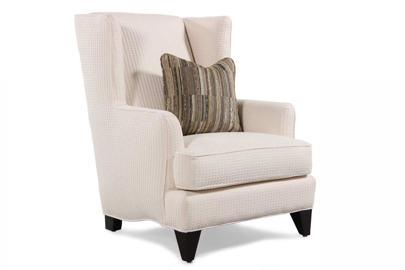 Jonathan Louis Pauline Wing Chair Mathis Brothers Furniture
