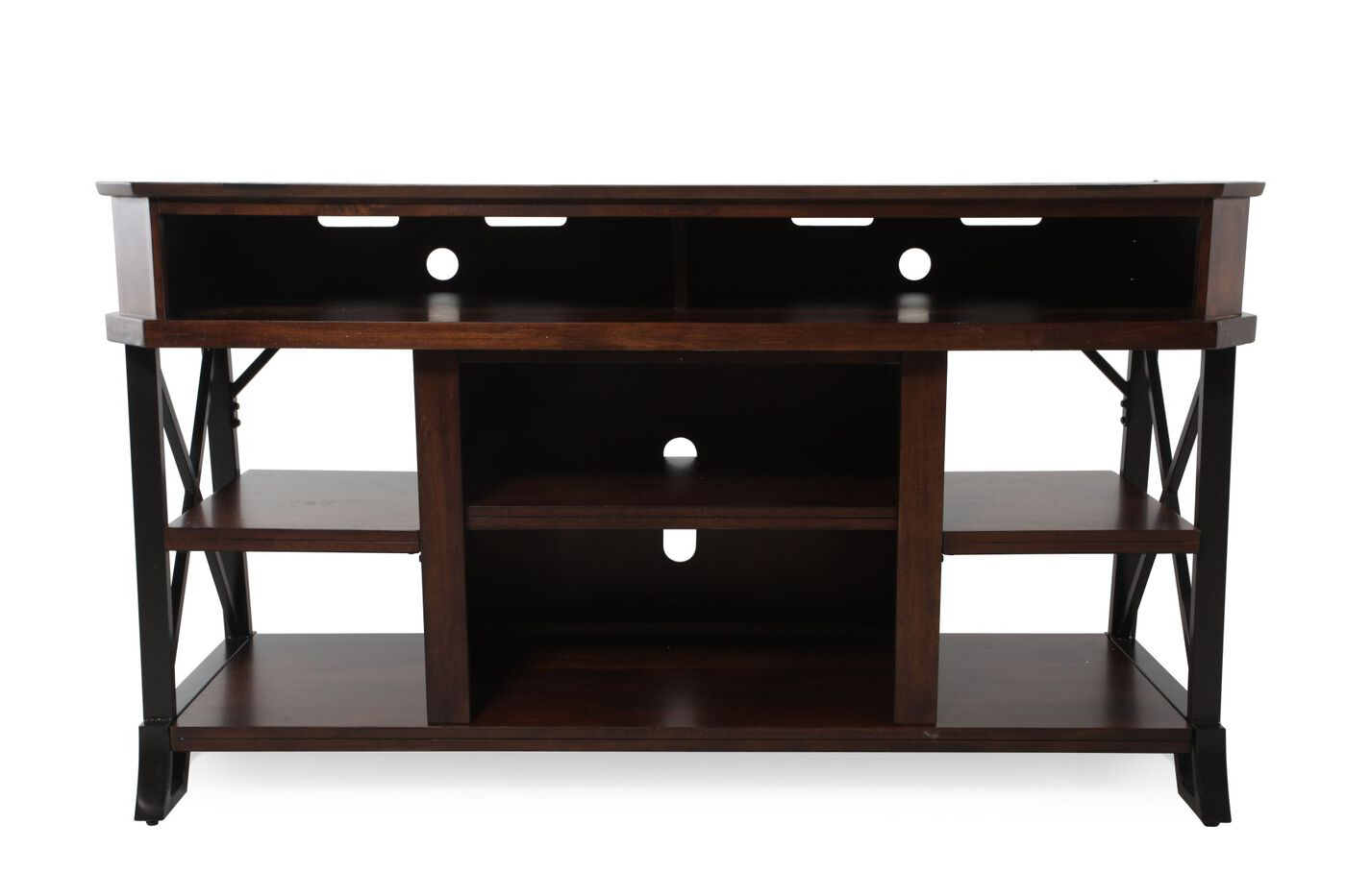Ashley Vinasville Tv Console Mathis Brothers Furniture