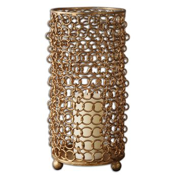 Uttermost Dipal Gold Candleholder