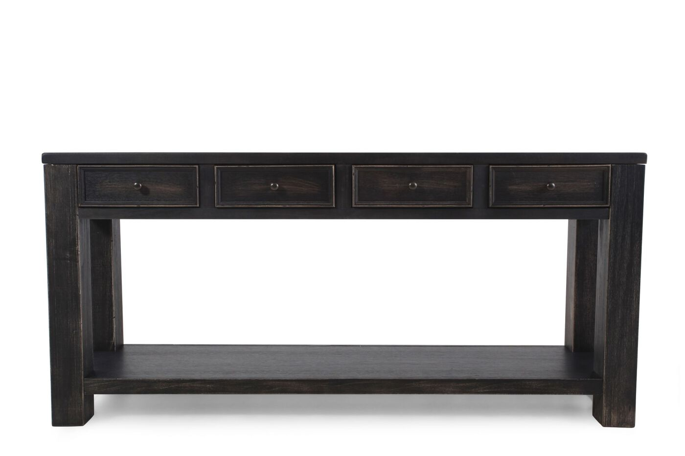 Ashley gavelston sofa table mathis brothers furniture for Sofa table vs console table