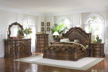 Pulaski San Mateo King Bedroom Set