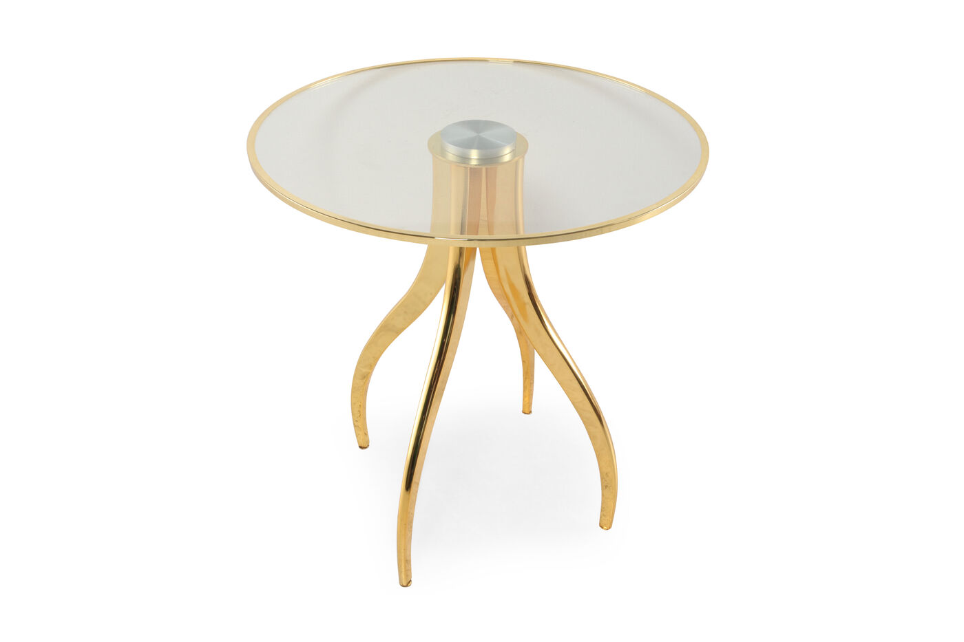 Round Chairside Table Bernhardt Interiors Cabrera Round Chairside Table Mathis