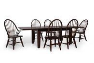 Broyhill Attic Rustic Oak Seven-Piece Dining Set