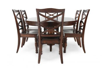 ashley porter five piece round dining set mathis
