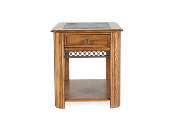 Magnussen Home Madison Rectangle End Table