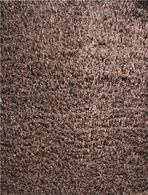 LBJ Hand Tufted Polyester Chocolate 8' X 8' Round Rug