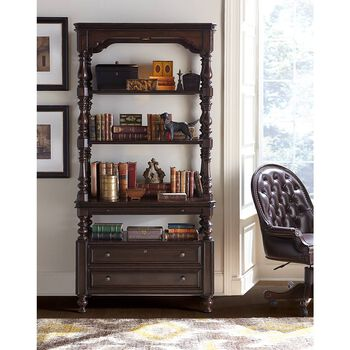 Stanley Casa D'Onore Sella Lateral File Bookcase