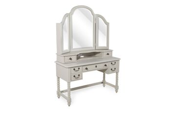 Legacy Inspirations Desk/Vanity with Mirror