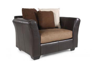 Ashley Masoli Mocha Chair and a Half