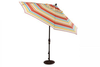 Treasure Garden Barcelona 9' Auto Tilt Umbrella