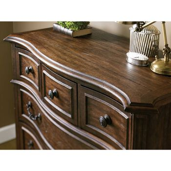 Stanley Villa Fiora Toasted Pecan Drawer Chest