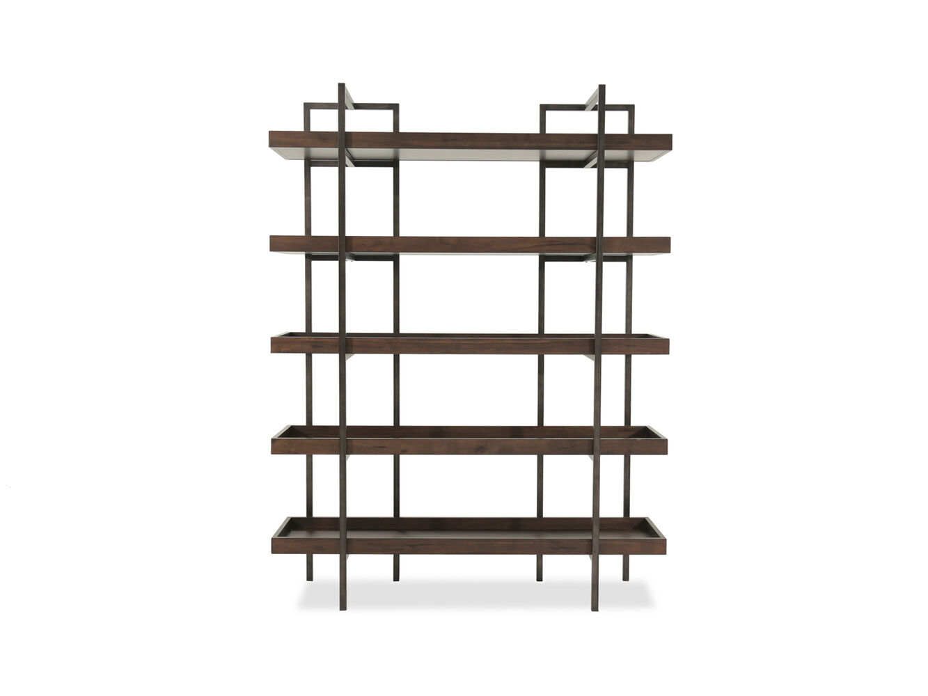 Ashley Starmore Brown 76 Quot Bookcase Mathis Brothers Furniture