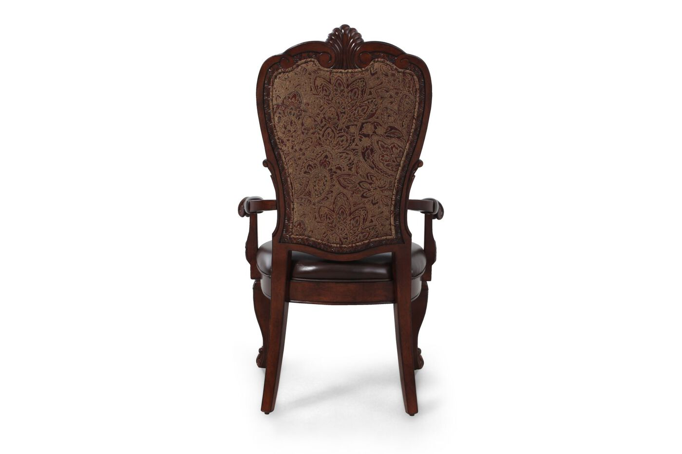 A R T Furniture Old World Leather Arm Chair Mathis