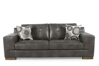 Boulevard steel bohemian sofa mathis brothers furniture for Sofa bed 91762