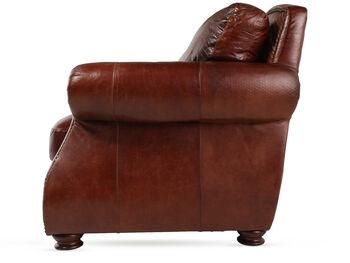 USA Leather Brandy Sofa