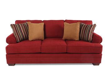 Broyhill Landon Red Sofa