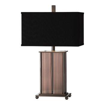 Uttermost Seyburn Antiqued Copper Lamp