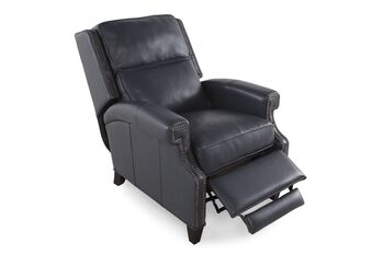 Bernhardt Leather Barrett Recliner