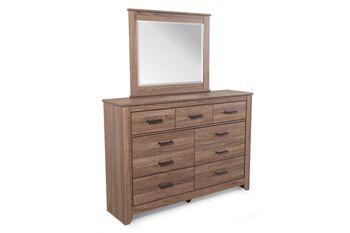 Ashley Zelen Dresser and Mirror